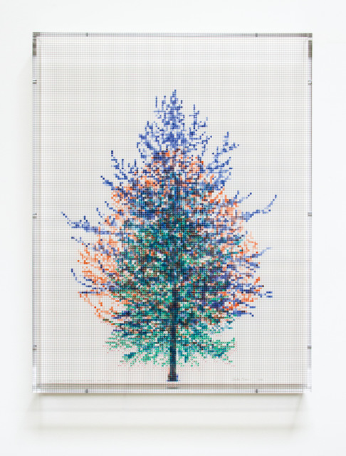 , 'Numbers and Trees, Tiergarten Series 3: Tree #4, July, 2018,' 2018, Paulson Fontaine Press