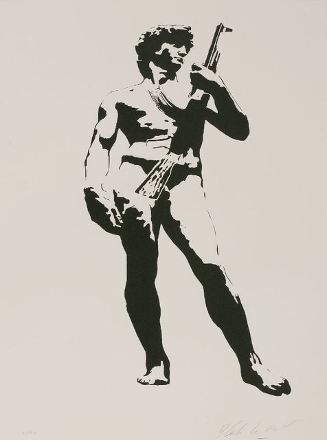Blek le Rat, 'David With Kalashnikoff', 2007, Sworders