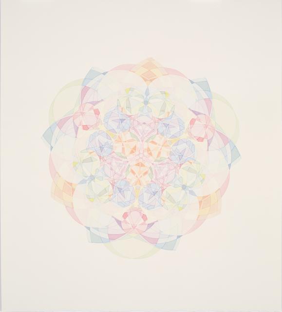 , 'Kaleidoscopic Spirograph Still #18,' 2013, ELLEPHANT