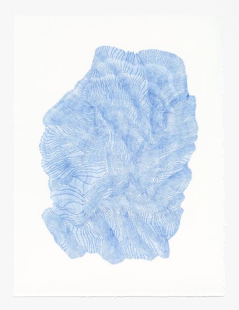 , 'Zigzags #10,' 2018, Muriel Guépin Gallery