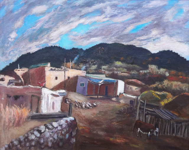 , 'Village of Talpa - New Mexico,' ca. 1944, 203 Fine Art