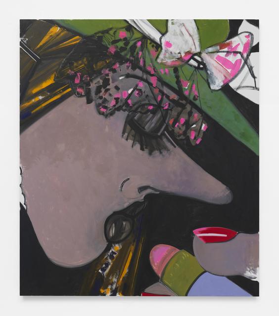 Ellen Berkenblit, 'The Green Hat', 2018, McEvoy Foundation for the Arts