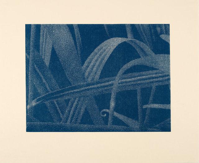 , 'Gräser I (Detail 2), Blau,' 2002, Ludorff