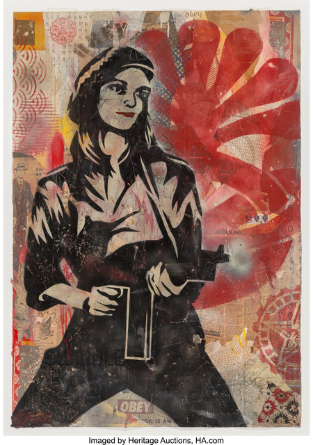 Shepard Fairey, 'Patty Hearst', 2004, Heritage Auctions
