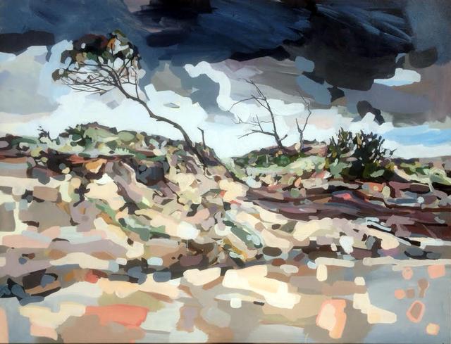 , 'Storm Scene Backdrop,' 2015, Chalk Horse