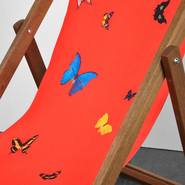 Damien Hirst, 'Deckchair red', 2008, Weng Contemporary
