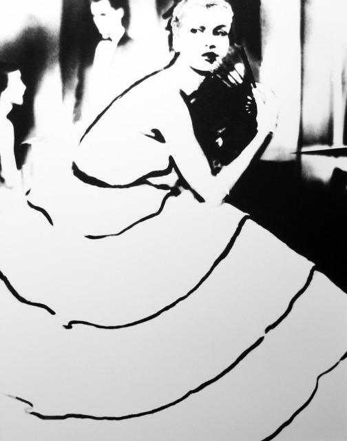 Lillian Bassman, 'Born to Dance: Margie Cato in a dress by Emily Wilkins, New York', 1948, Peter Fetterman Gallery