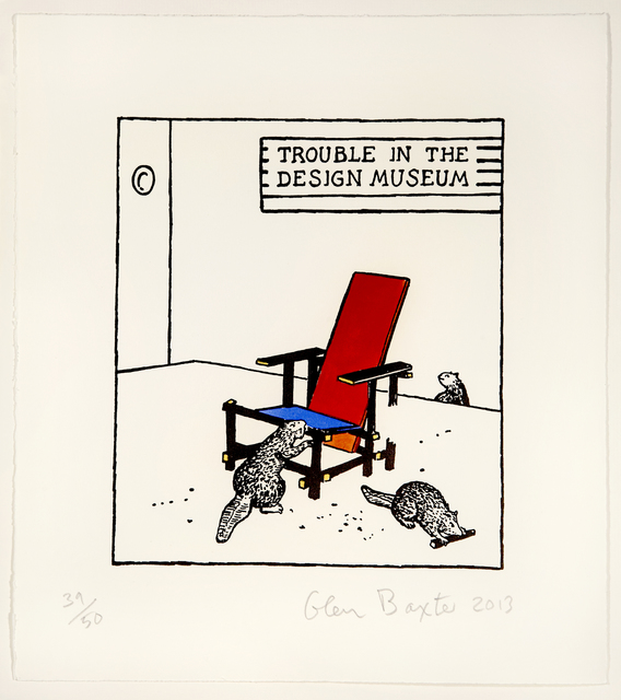 , 'Trouble in the Design Museum,' 2013, Flowers