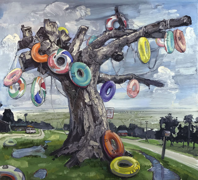 , 'Lowe's Tubes, Ichetucknee II,' 2017, Arthur Roger Gallery