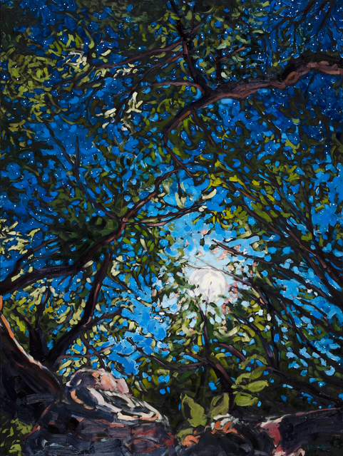 Deb Komitor, 'Embracing the Moon', 2016, Abend Gallery