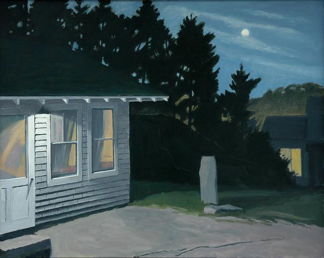 Richard Kirk Mills, 'Night Lights in a Granite Quarry', 2019, Blue Mountain Gallery
