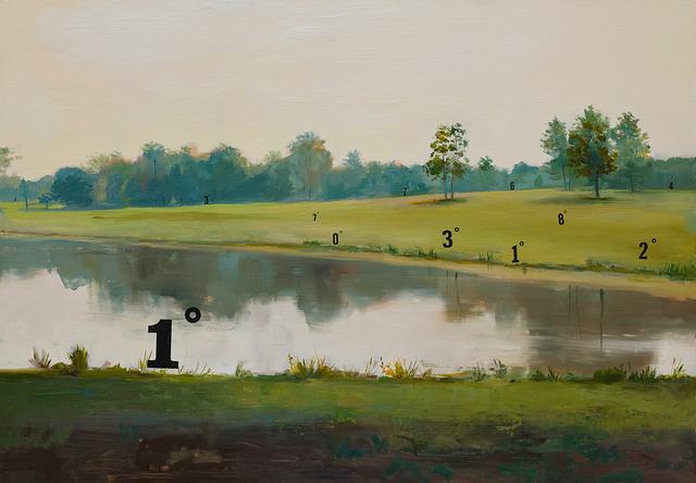 , 'Protracted Landscape no. 6,' 2015, Lazinc