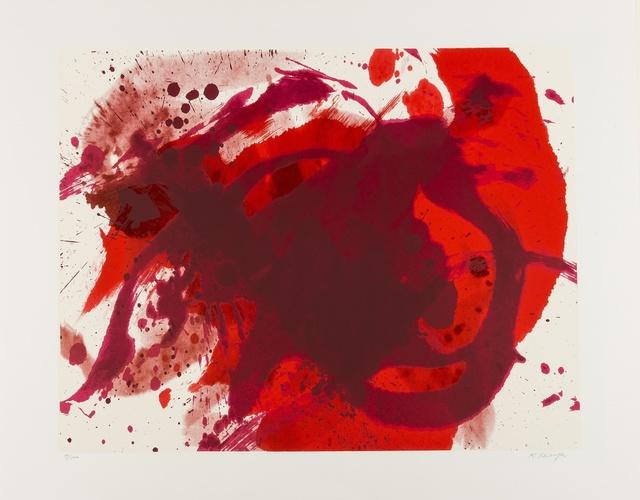 Kazuo Shiraga, 'Passionate Winner', 1988, Print, Screenprint, Forum Auctions