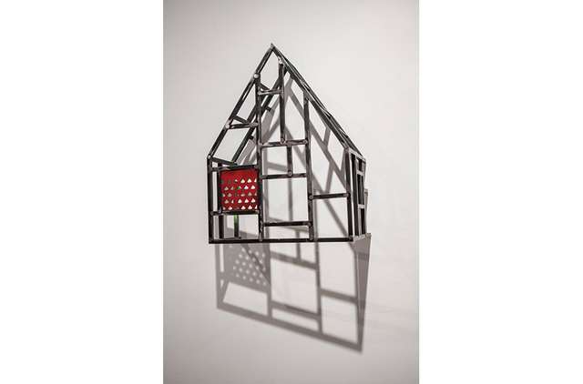 , 'HOUSE SKETCH WITH LASER CUT-PANEL,' 2013, Paul Loya Gallery