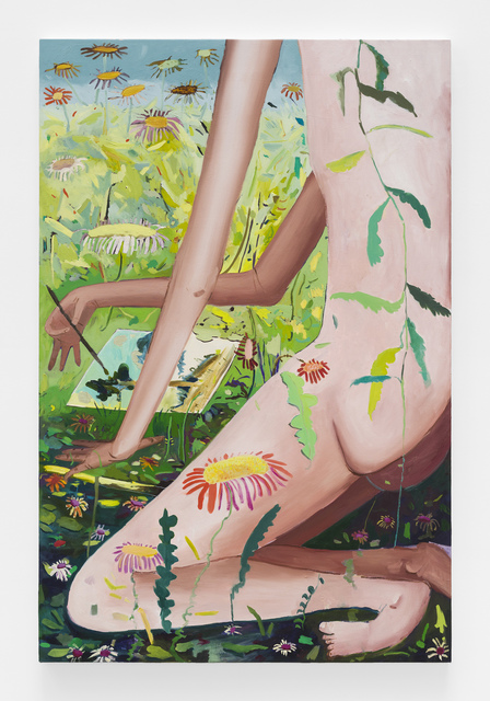 , 'Drawing in a Meadow,' 2017, Johannes Vogt Gallery