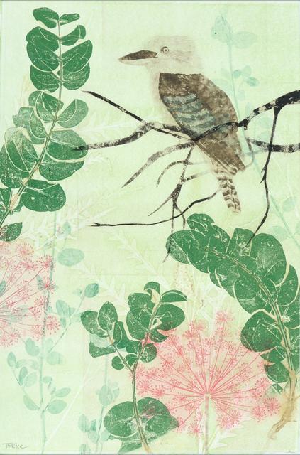 , 'Kookaburra in the Brush,' 2018, Queenscliff Gallery & Workshop