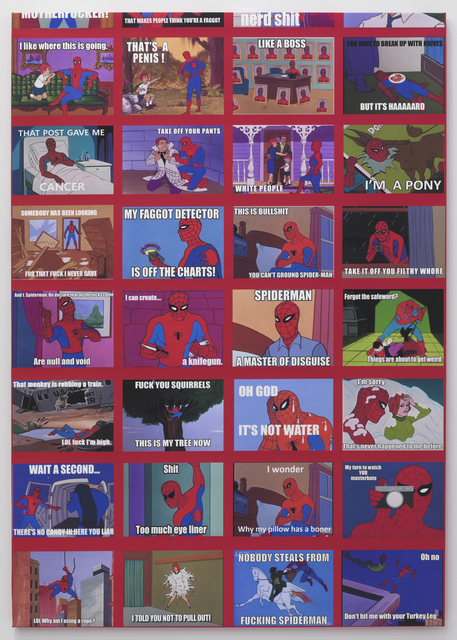 , 'Spiderman Meme Painting,' 2014, Feuer/Mesler