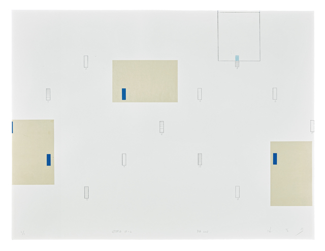 , 'Utopia 18-1,' 2018, Cahiers d'Art