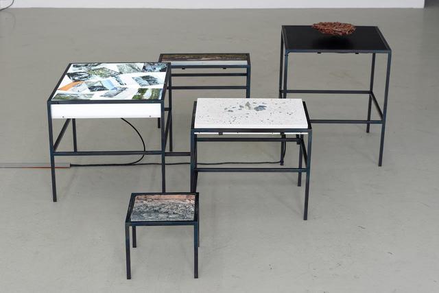 LIVES BETWEEN Group Exhibition in Collaboration With KADIST, 'Otobong Nkanga - Tsumeb, Fragments - Kadist collection ', Center for Contemporary Art - Tel Aviv