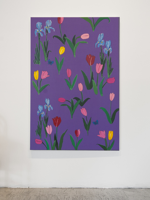, 'Tulips and Irises,' 2016, Gallery 16