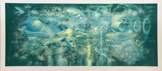 Mario Martinez (Mars-1), 'Mars-1: Correlation Monoprint C (1/1)', 2019, Mirus Gallery