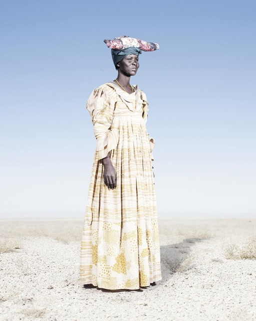, 'Herero Woman in Yellow Dress,' 2012, KLOMPCHING GALLERY