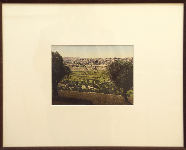 Unknown Artist, 'Jerusalem from Mount of Olives', 1890-1900, Photography, Photochrome, Vision Neil Folberg Gallery