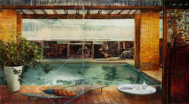 Gil Heitor Cortesão, 'Wabi Sabi Pool', 2020, Painting, Oil on plexiglas, Carbon 12