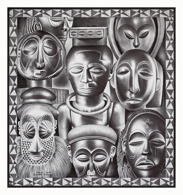 , 'Le Roi Kuba,' 2016, Africa Bomoko