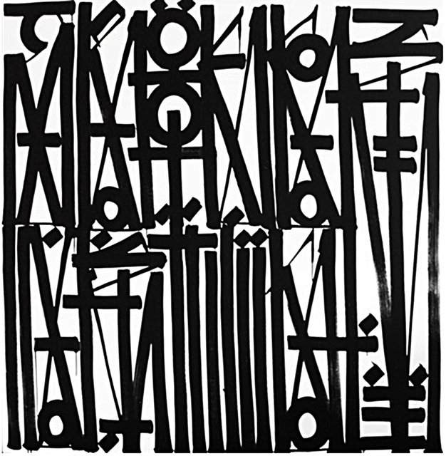 RETNA, 'Crooked Just Like You', 2016, HG Contemporary