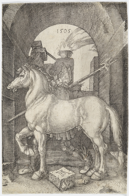 , 'The Small Horse,' 1505, Galerie d'Orsay