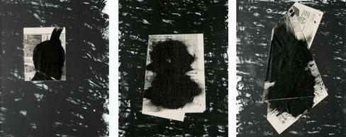Jannis Kounellis, 'Senza titolo (Trittico)', 1998, Schellmann Art