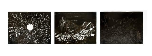 , 'Ajaccio's Tryptich,' 2013, García Galeria