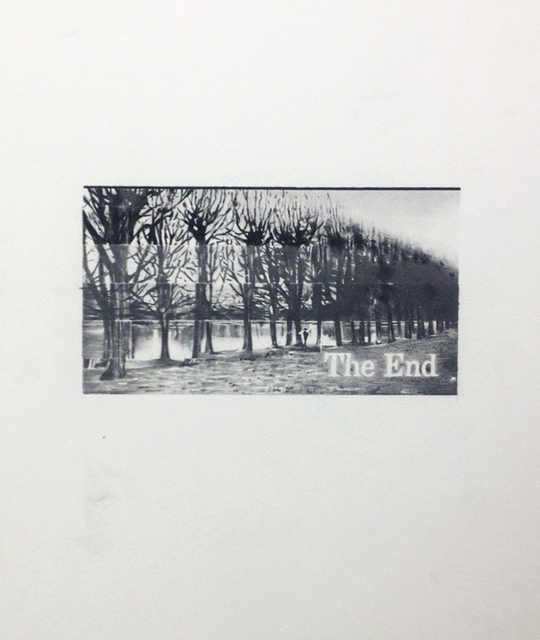 , 'The End (13),' 2014, Galleri Tom Christoffersen