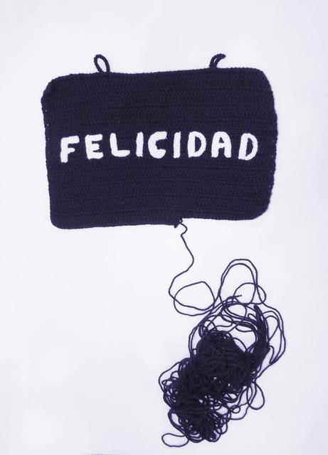 , 'Felicidad,' 2016, Galeria Lume