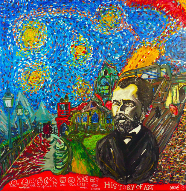 , 'Van Gogh,' 2017, No Galerie