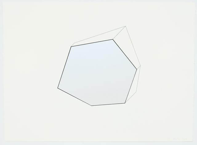 , 'White Noise (Study),' 2019, David Klein Gallery