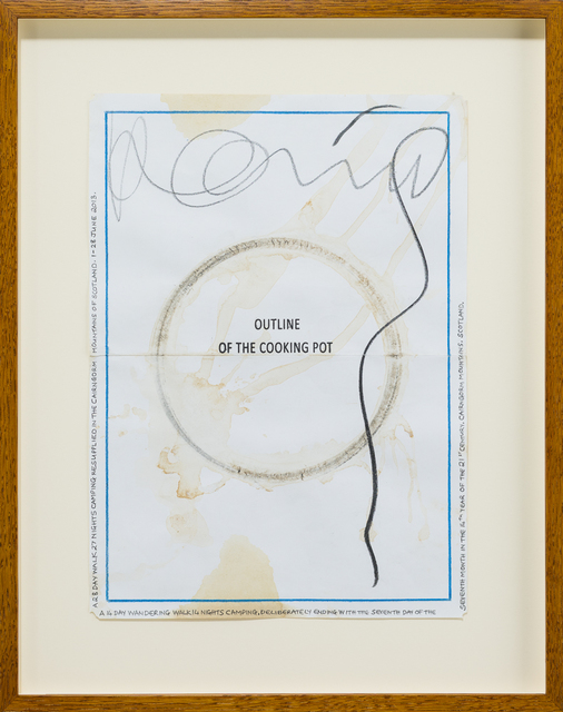 , 'Outline of the cooking pot. Scotland 2013 - 2014,' 2013-2014, Häusler Contemporary