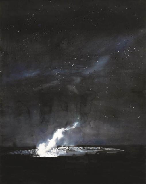 , 'Halemaʻumaʻu Crater, Night,' 2017, Alan Cristea Gallery