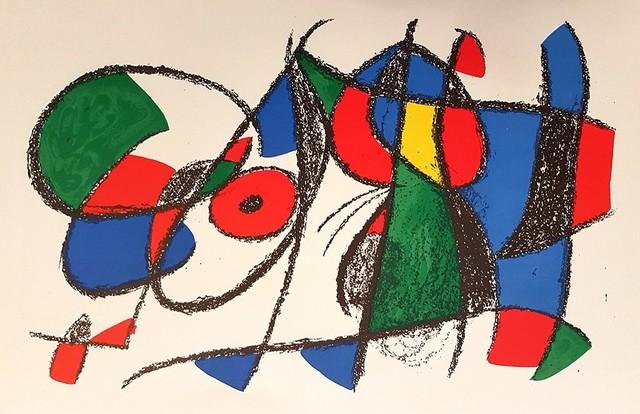 Joan Miró, 'Mirò Lithographe II - Plate VIII', 1975, Wallector