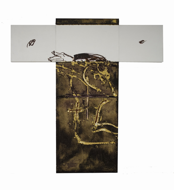 , 'En forma de creu,' 2003, Galeria Jordi Pascual
