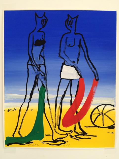 , 'Pouldu couleur 3,' 2016, Galerie Laurent Godin