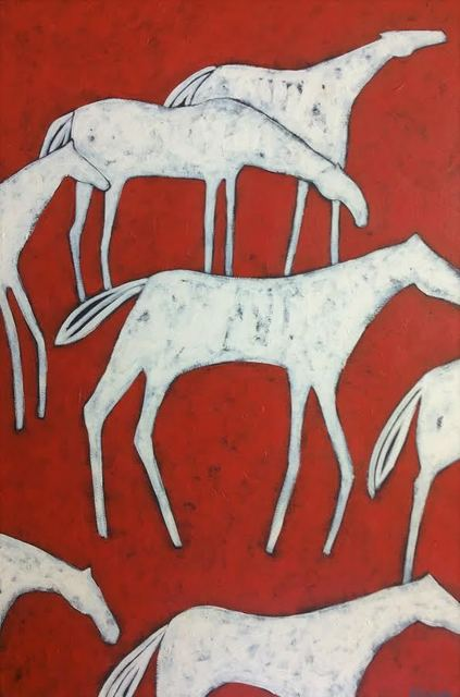 , 'Red Herd ,' , WaterWorks Gallery