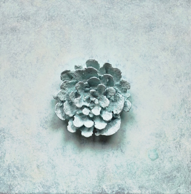, 'Bronze Blossom (White),' 2012, Heather Gaudio Fine Art