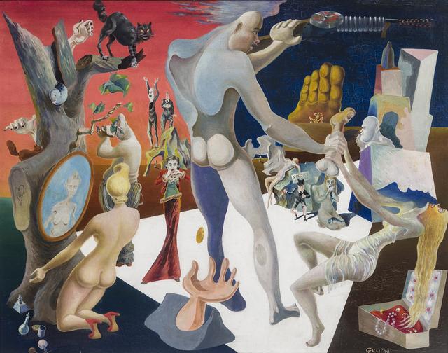 , 'Capital Minus Labor,' 1938, Hirschl & Adler