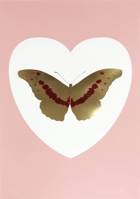 Damien Hirst, 'I Love You - White/Pink/Cool Gold/Poppy Red', 2015, Hamilton-Selway Fine Art