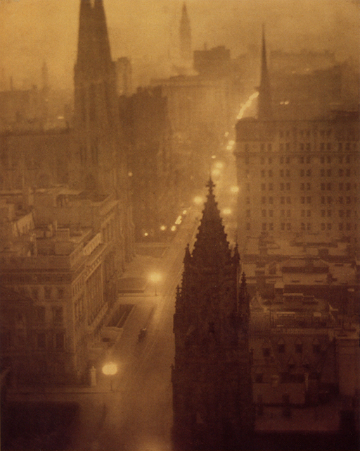 Alvin Langdon Coburn, 'Fifth Avenue from St Regis, New York', 1904, °CLAIRbyKahn Galerie