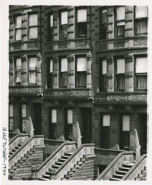 , 'New York City, Upper West Side,' 1940, Be-hold