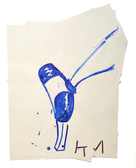 , 'Blue Shoe with Shine (KM),' 2015, CHOI&LAGER