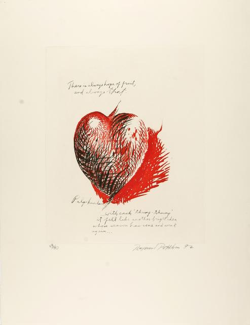 , 'There is Always Hope,' 1992, Galerie Krinzinger
